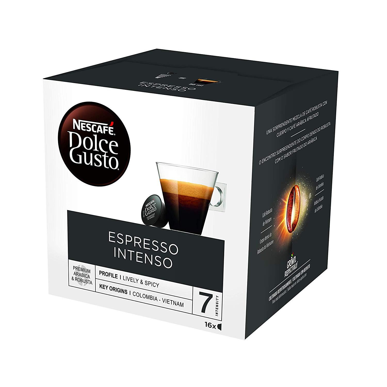 Pack de 48 cápsulas | NESCAFÉ Dolce Gusto Espresso Intenso