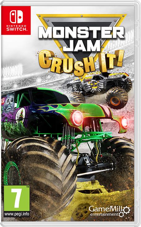 Nintendo switch Monster Jam crush it