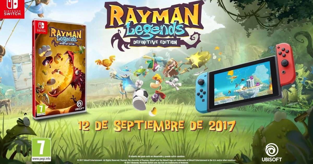 Juego Rayman Nintendo swicth (Alcampo vaguada Madrid)