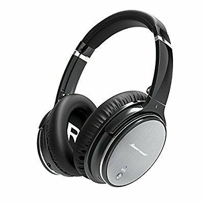 Auriculares Diadema Bluetooth Cancelación Ruido Activa,Inalámbricos LinkWitz-Hiearcool Con Micrófono y Control de Volumen para Todos Los Dispositivos