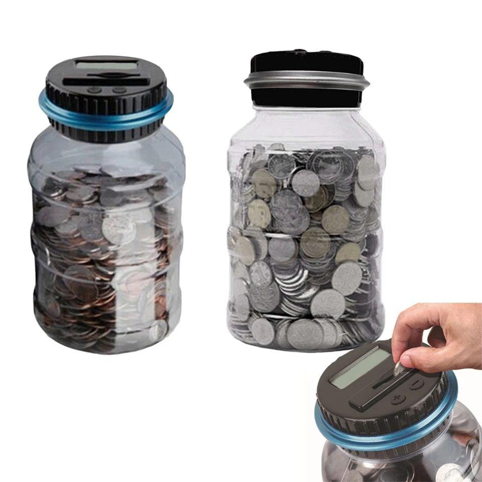Hucha cuenta monedas, 5,17€ envío incluido
