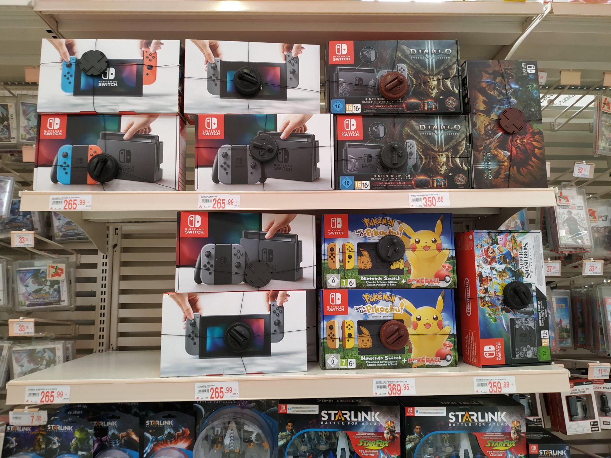 Nintendo Switch en Alcampo de Motril