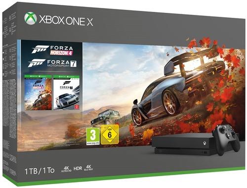 Xbox One X + FORZA HORIZON 4 + FORZA MOTORSPORT 7