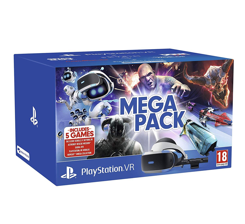 Pack PlayStation VR V2 + PlayStation cámara + 5 juegos (Digital)