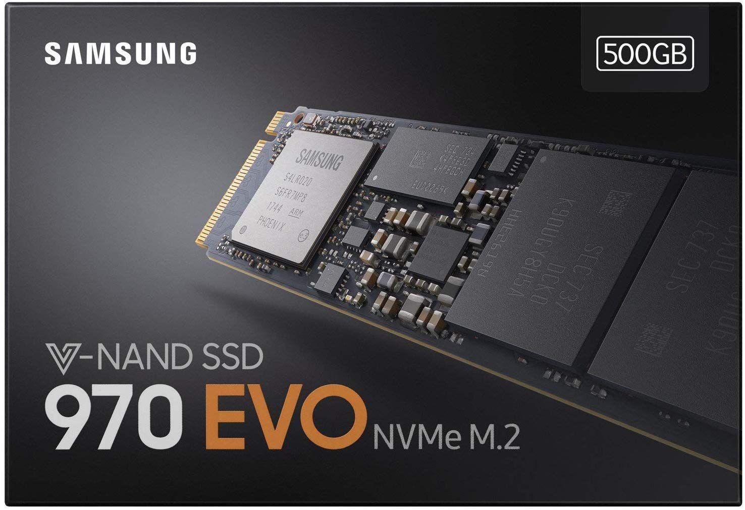 Samsung 970 EVO - Disco duro sólido de 500 GB