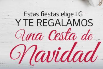 LG OUTLET hasta 50% + Cesta de navidad