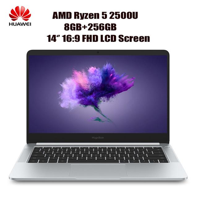 Portátil Huawei  14 '' FHD W10 AMD Ryzen 5 2500U 8 GB + 256 GB