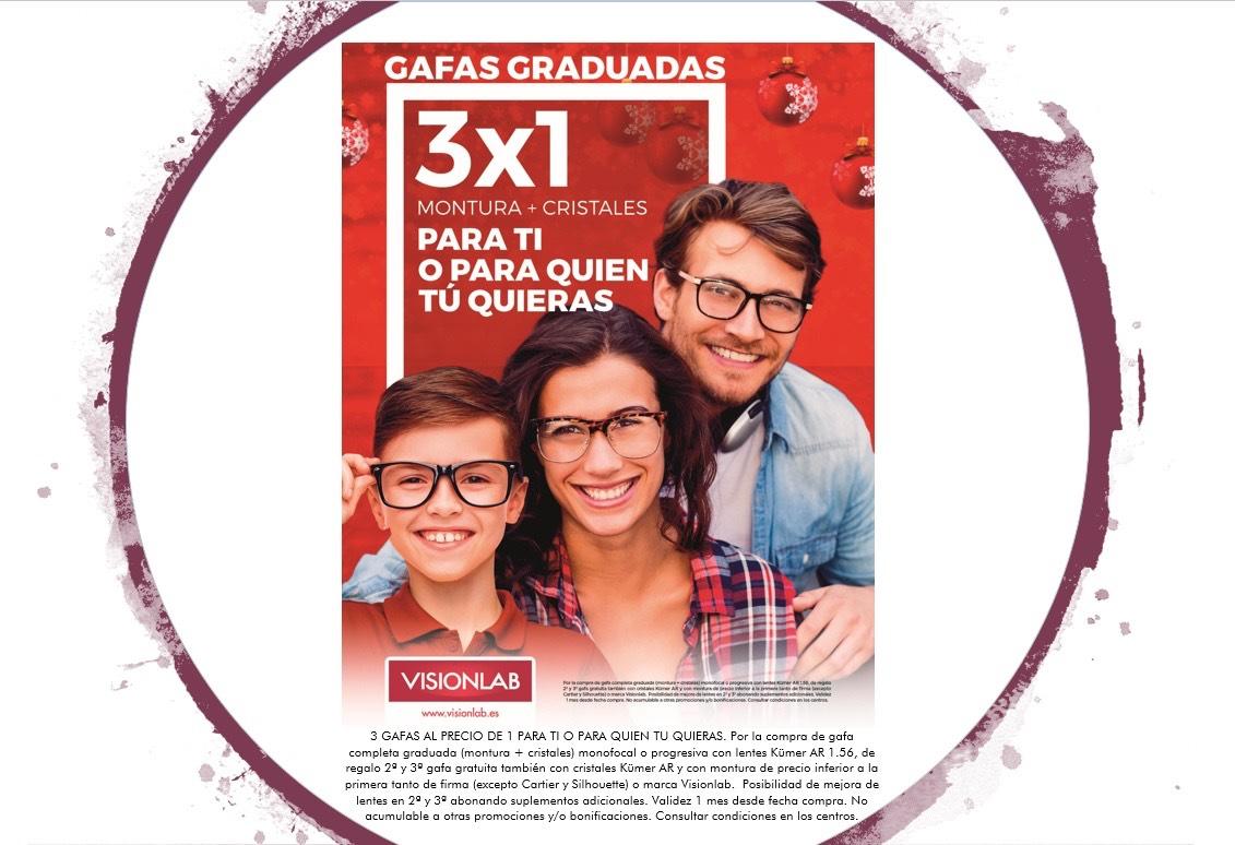 3x1 en gafas visionlab
