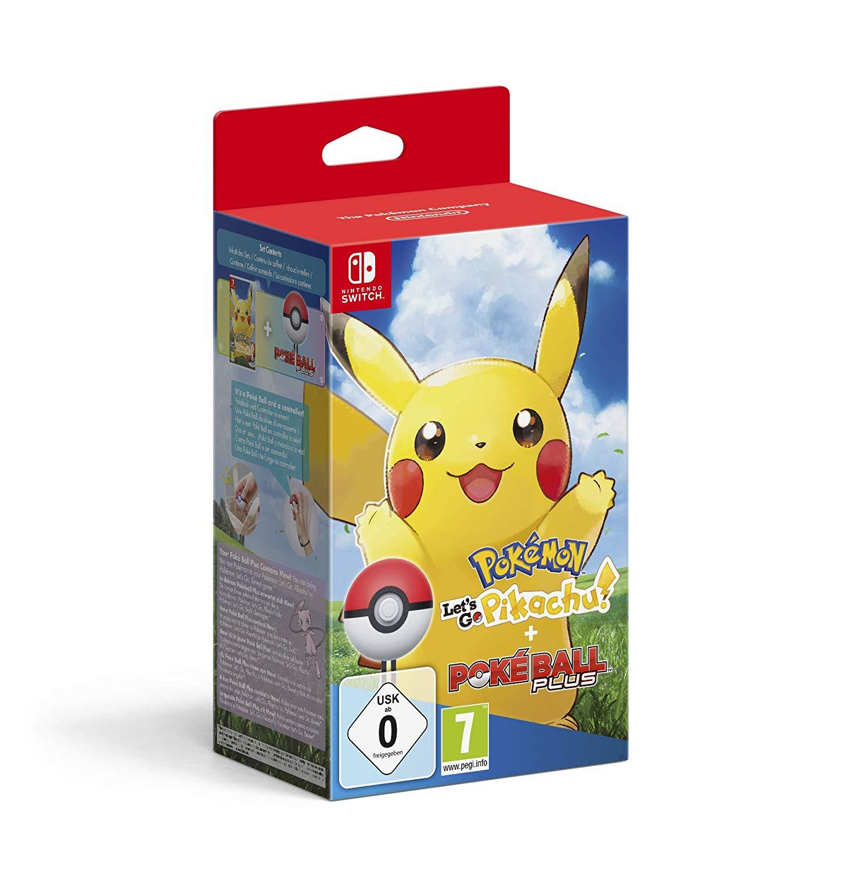 Pokémon Let's Go Pikachu! + Poké Ball Plus en Alcampo Mataró