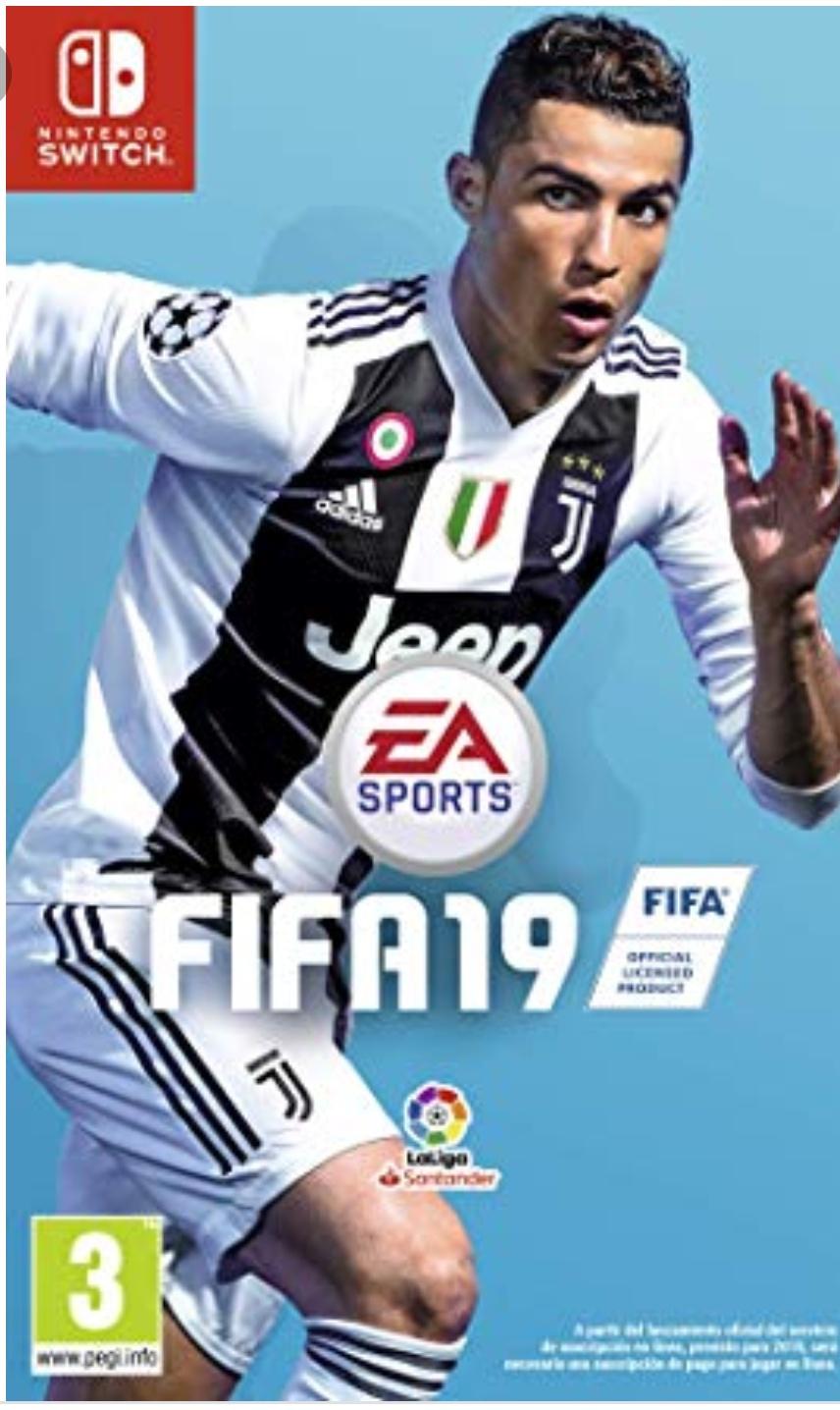 FIFA 19 switch en Alcampo Mataró