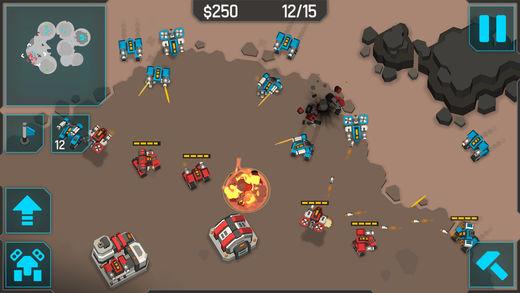 iOS: MechCom 3 - 3D RTS (gratis)