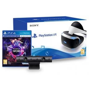 Sony PlayStation VR + VR Worlds + Camara(V2)