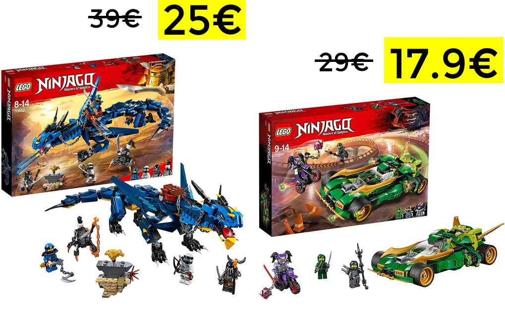 Bajadas Lego NinjaGo