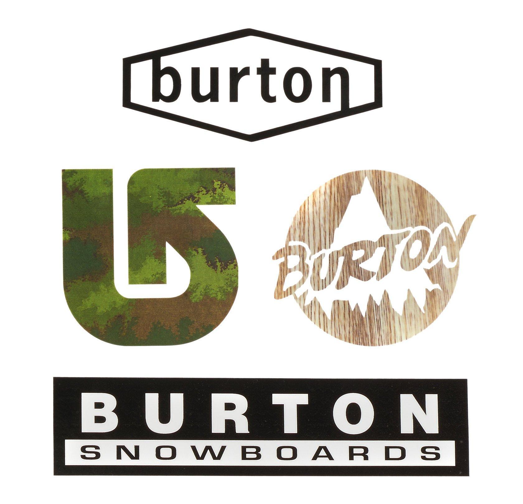 Pegatinas Burton diferentes modelos GRATIS