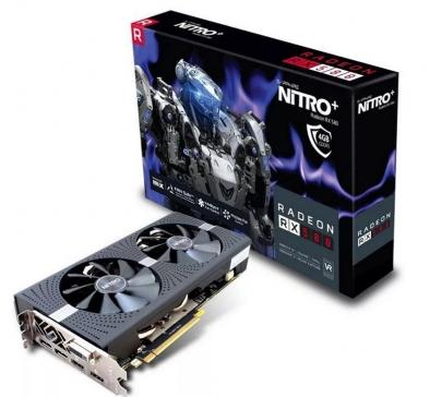 Radeon RX 580 de 4GB, también RX 570 y RX 470.
