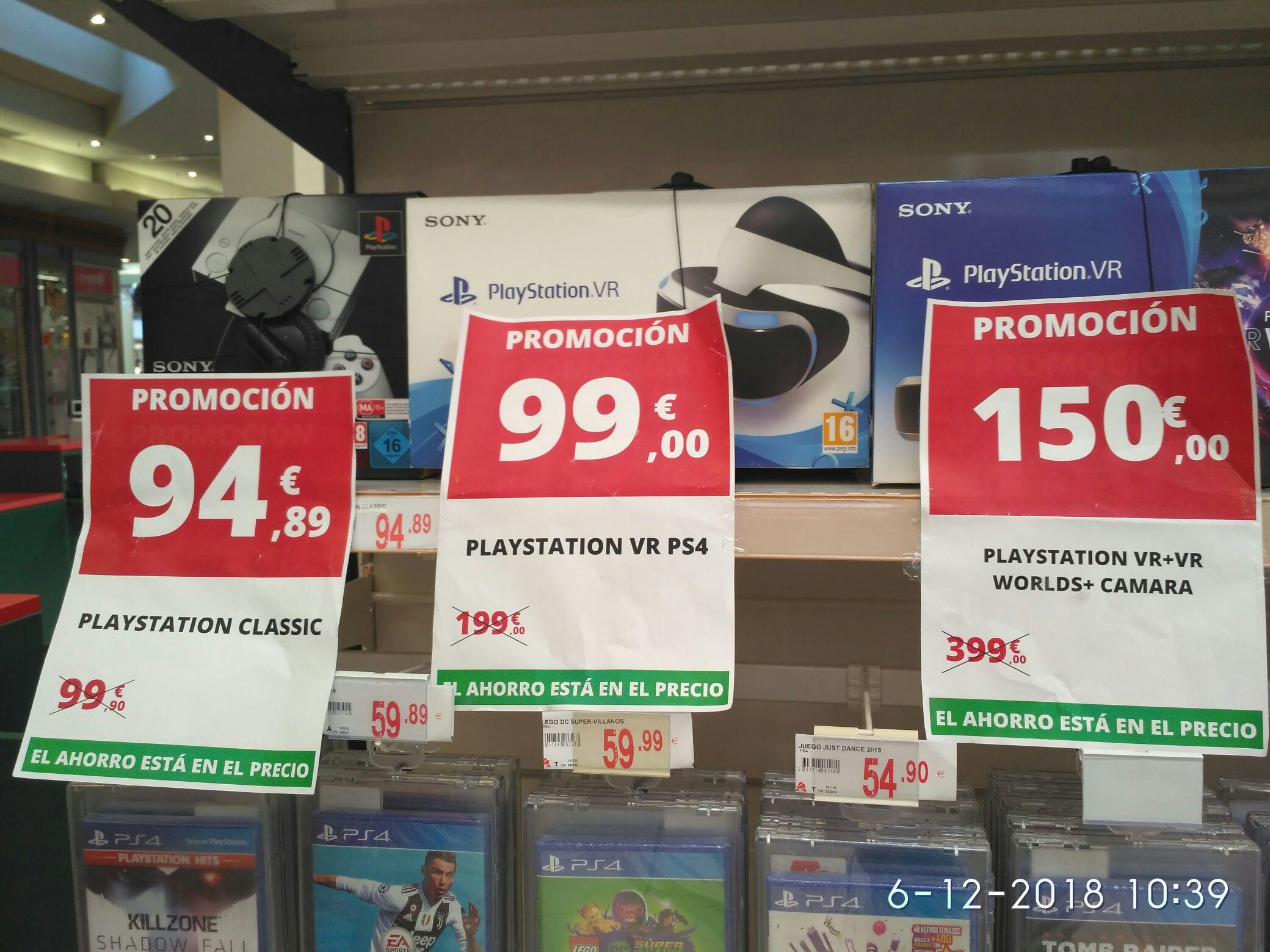 Varios precios productos play station