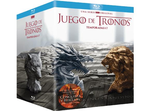 Juego de Tronos - Temporadas 1-7 - Blu-ray + Conquista & Rebelión