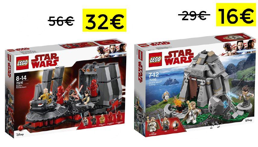 Preciazos en Lego Star Wars