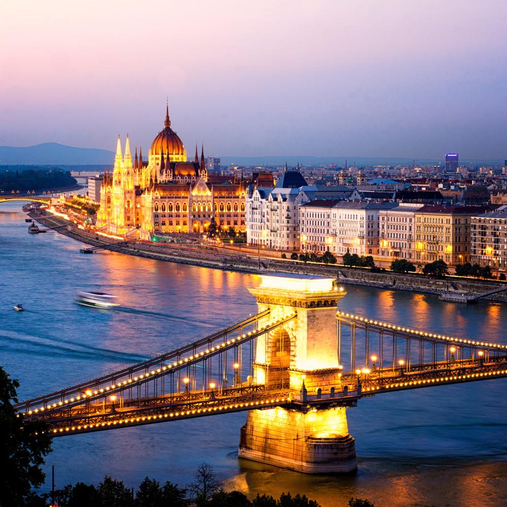 Budapest: vuelos + 2 noches en hotel sólo 74€