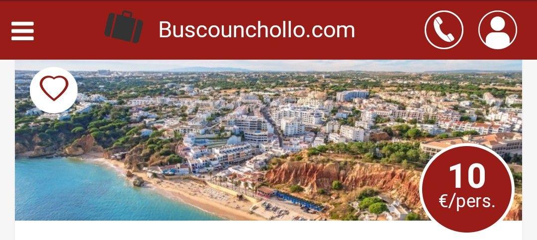 Escapada de 2 días y 1 noche en Albufeira(Portugal) Hotel Apartamentos Balaia Atlántico 4 estrellas.10€.