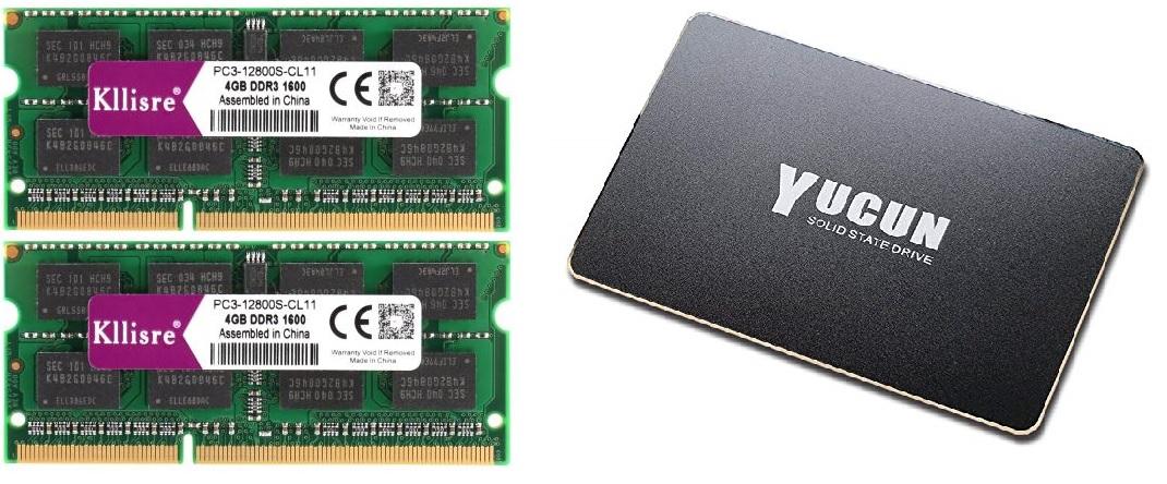 Revive tu viejo portátil y dale otra oportunidad! RAMs+ SSDs