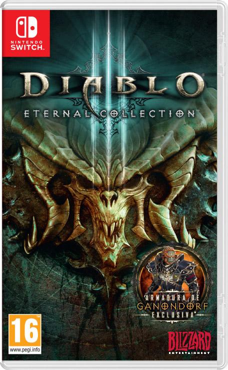 Diablo III: Eternal Collection + 200 puntos oro para Switch [Store Oficial Nintendo]