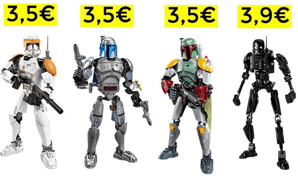 Figuras de Star Wars desde 3.5€