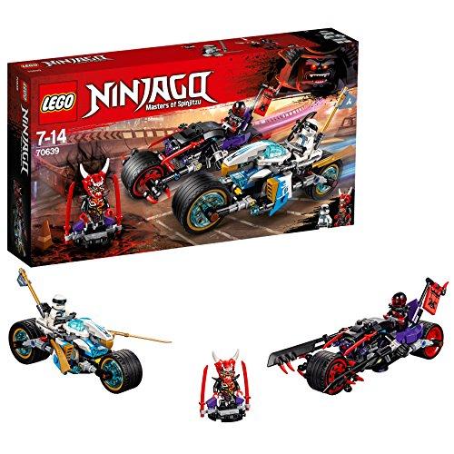 LEGO Ninjago - Carrera callejera del Jaguar-Serpiente