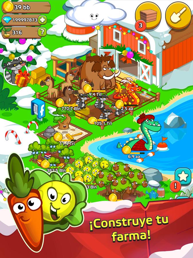 Android: Farm and Click - Idle Farming Clicker PRO (gratis)