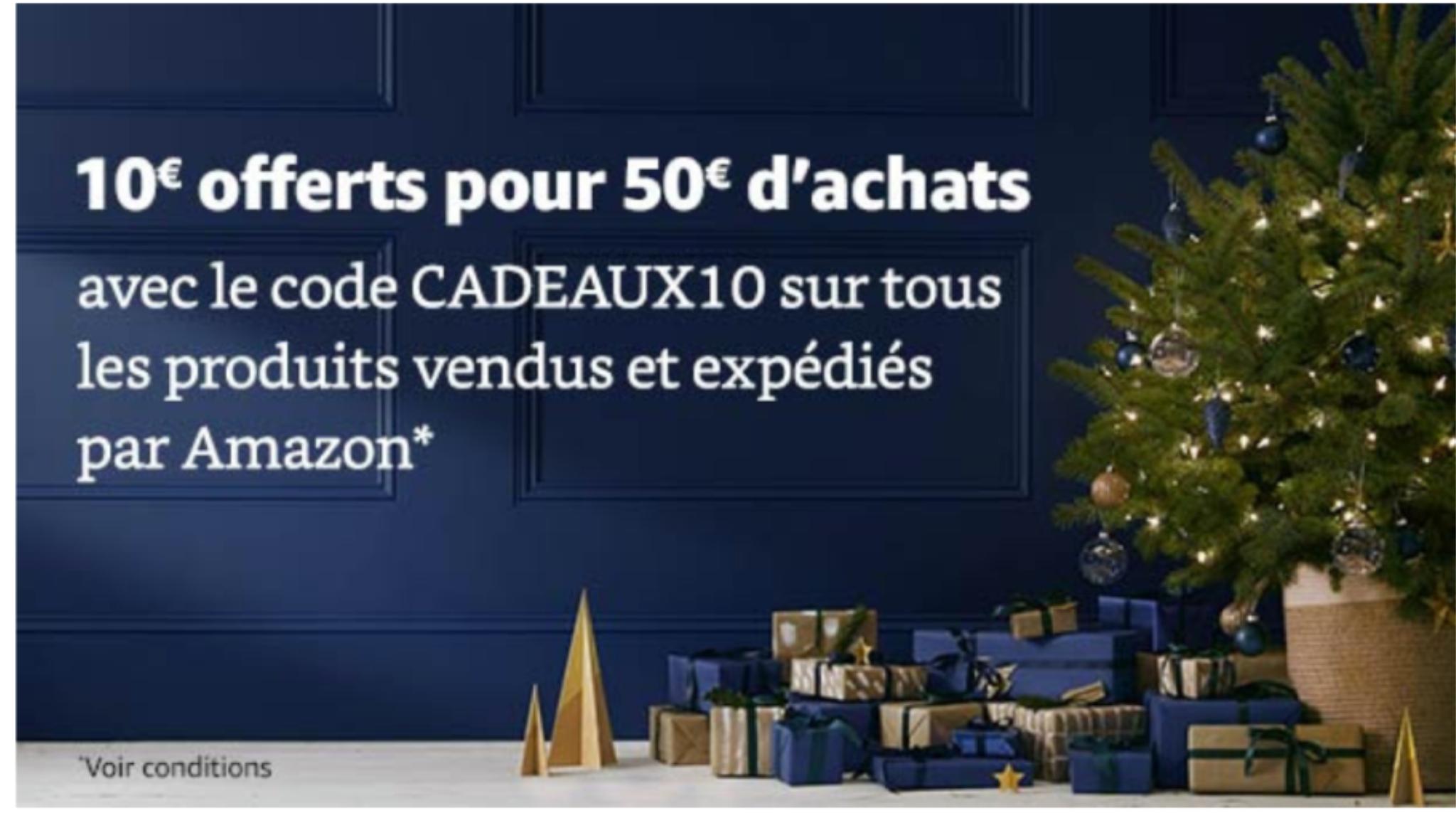 10€ de descuento en Amazon Francia
