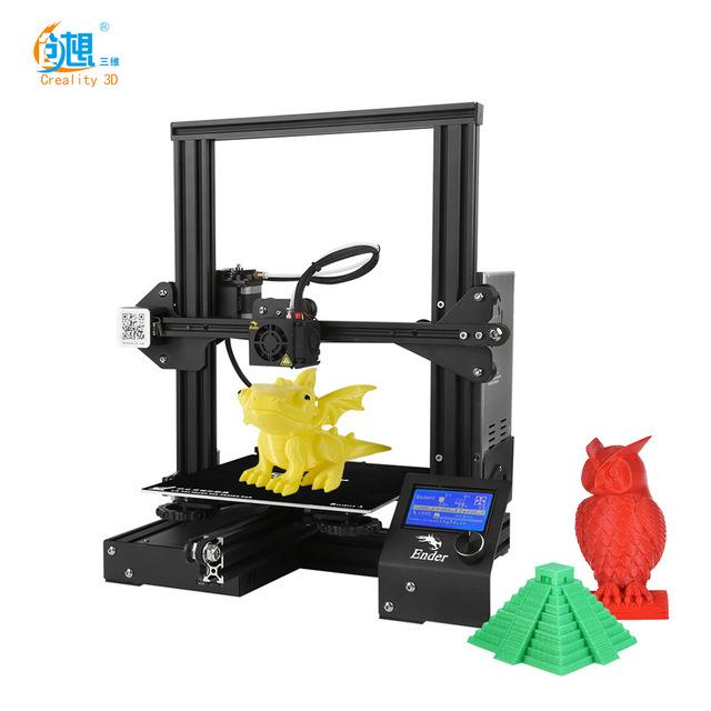 Impresora 3D Creality 3D Ender-3 (Envío desde Alemania por DHL)