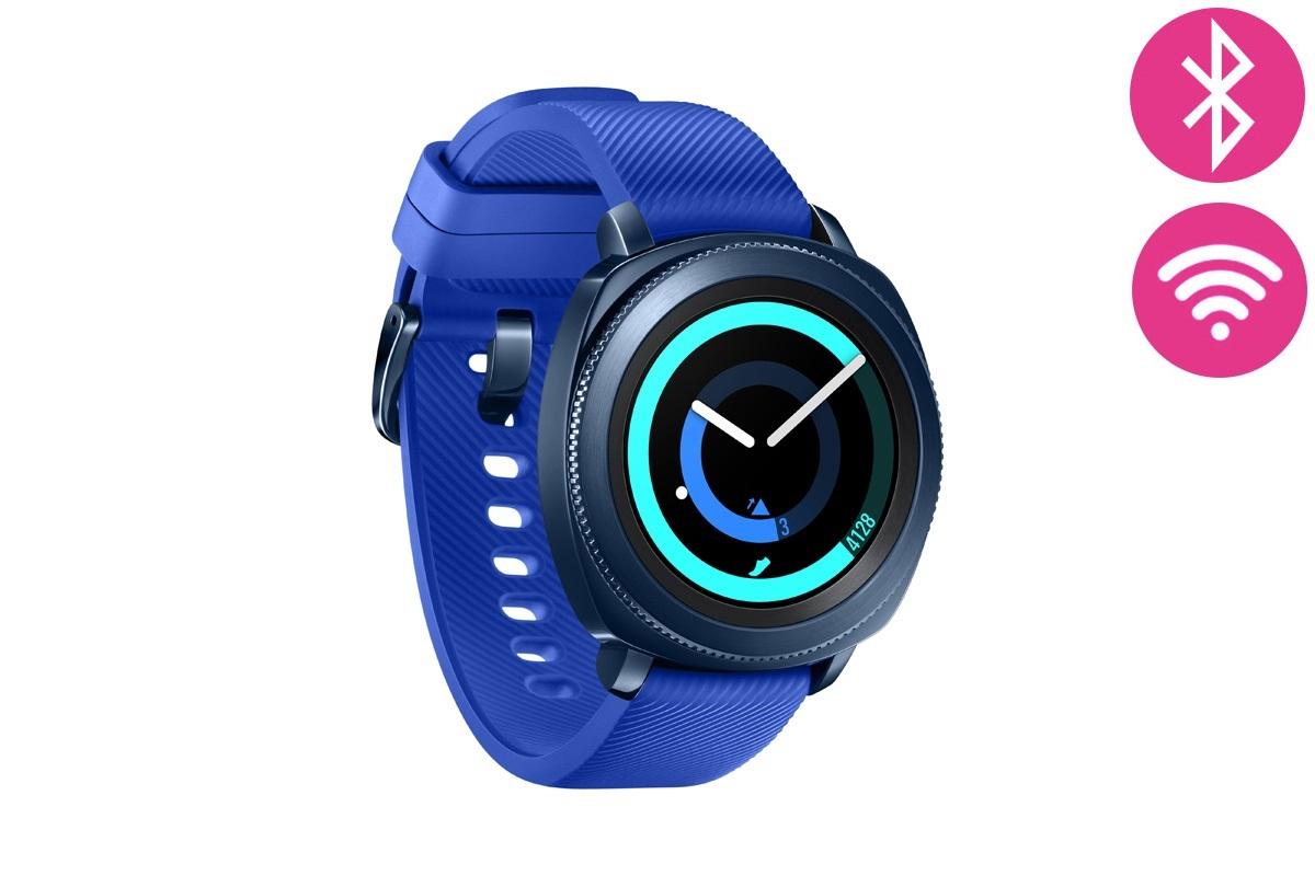 smartwatch samsung gear sport - azul