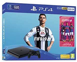 PS4 500gb + FIFA 19