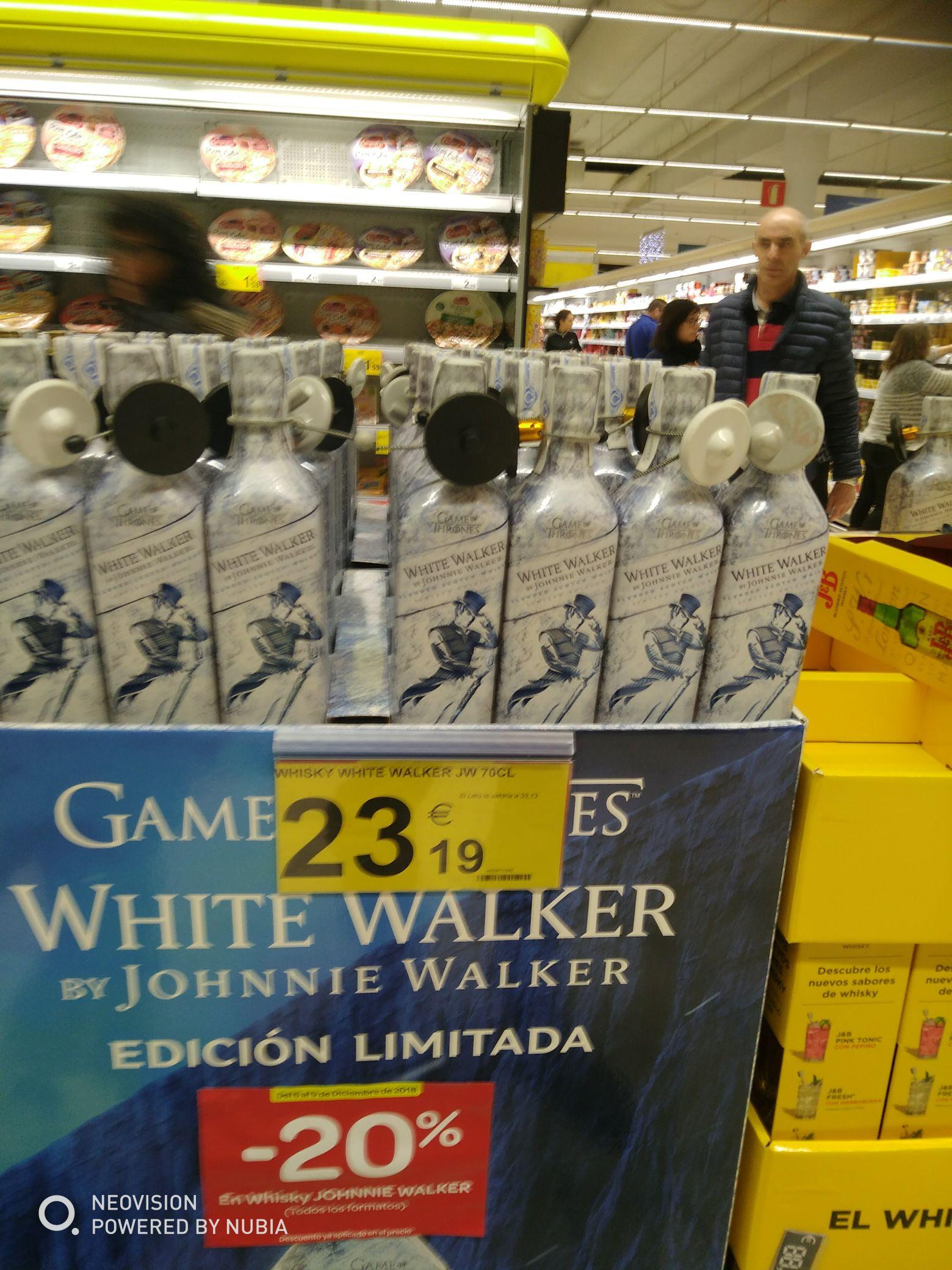 20%descuento White Walker edición juego de tronos winter id comming