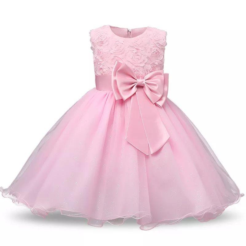 Vestido elegante de niñas supercuquis