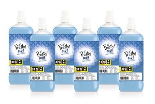 Presto Amazon Suavizante concentrado azul, 360 lavados (6 Packs, 60 cada uno)