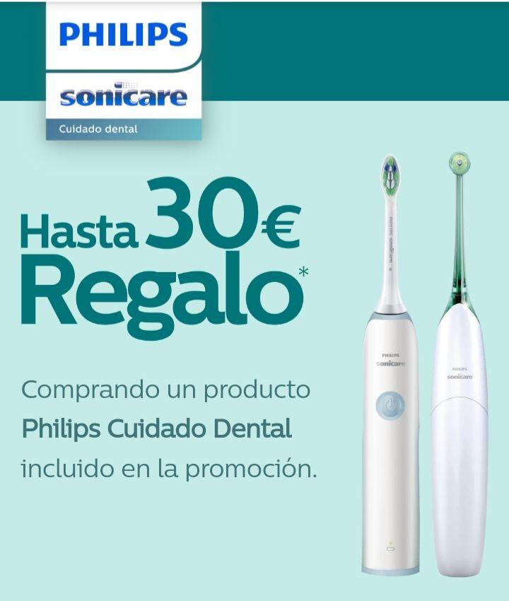 Hasta 30€ de reembolso en productos seleccionados Philips Sonicare  en Carrefour