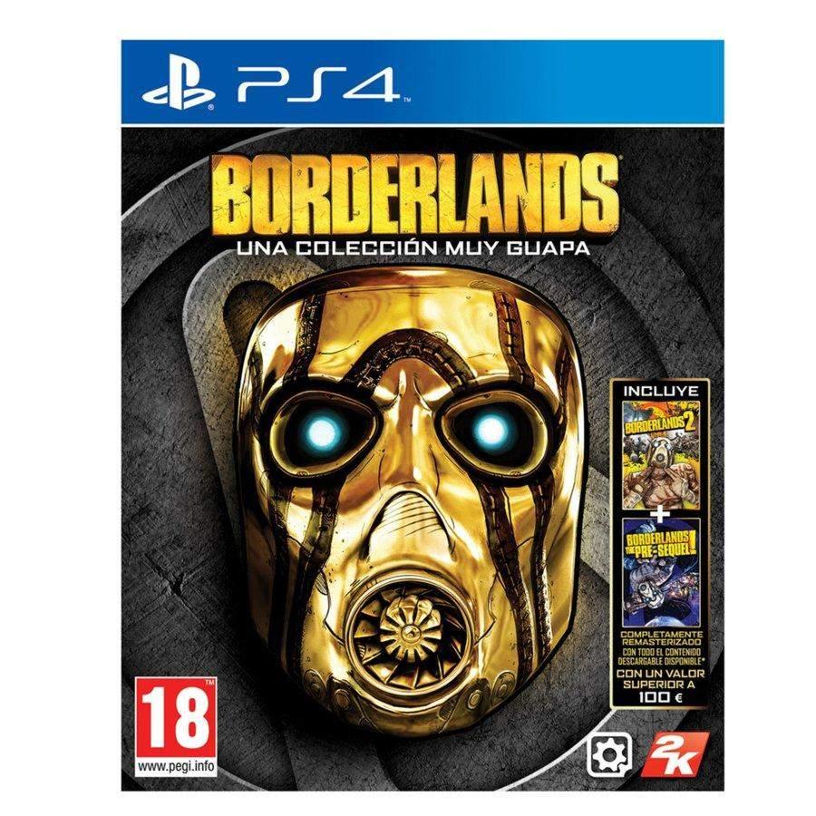 Paquete Borderlands 18€ fisico