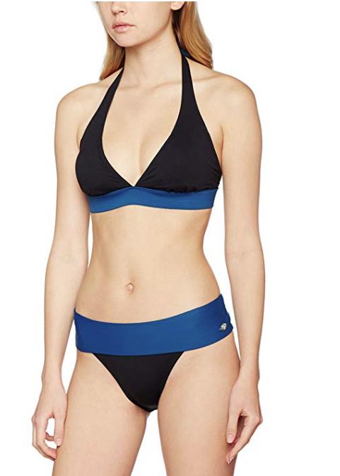 Haute Presion · Bikini completo mujer negro y azul