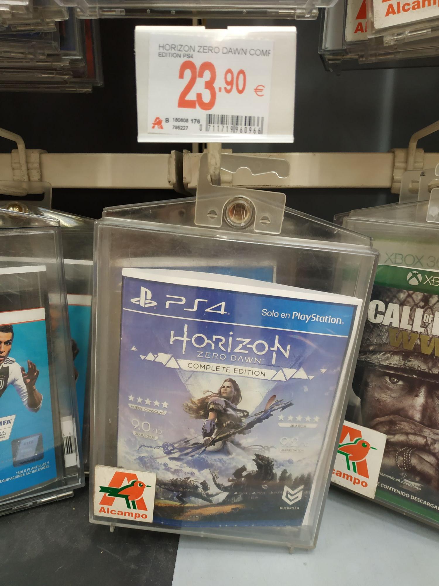Horizon Zero Complete Edition (PS4)