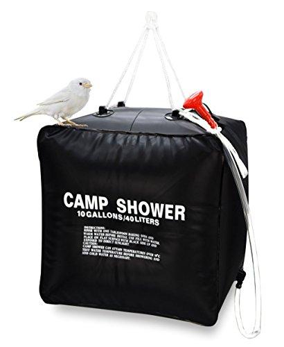 Ducha camping 40l. Calor solar solo 7.4€