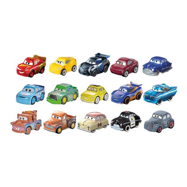 Coches mini racers Mattel