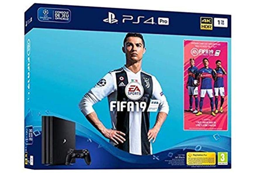 PS4 PRO 1TB (Nuevo chasis G)+ FIFA 19 + 14 días PSN plus