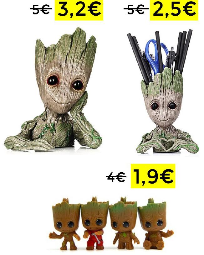 Recopilacion Groot TOP ventas