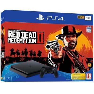 (AHORA TODO +10€) PlayStation Slim 1tb + Red Dead Redemption por 239,99€ ; PlayStation 4 500gb Slim por 189,99€ ; PS4 Pro por 289€