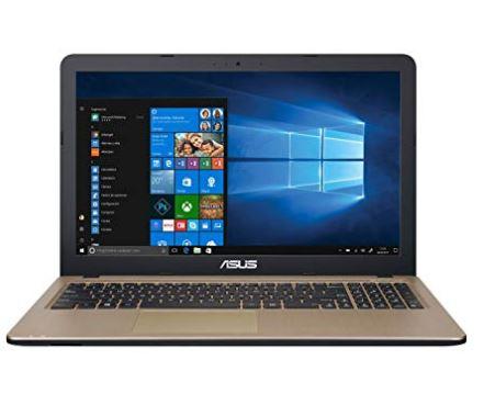 ASUS VivoBook Intel Celeron N3350, 4GB RAM, 500GB HDD
