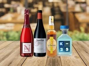 Liquidación de stock en licores y vinos