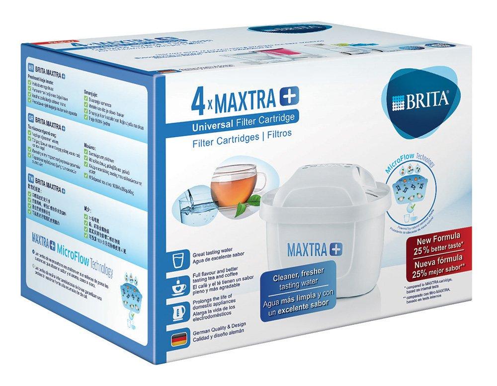 Brita MAXTRA + Filtro de agua, 4 unidades