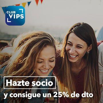 25% descuento VIPS