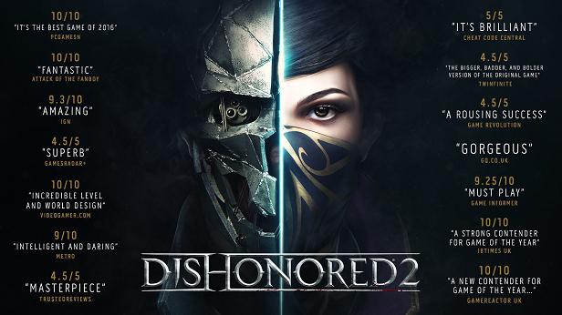 Dishonored 2 (Steam Key)